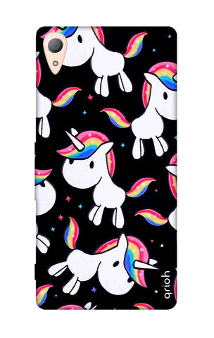 Colourful Unicorn Sony Z3 Cases & Covers Online
