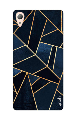 Abstract Navy Sony Z4 Cases & Covers Online