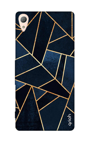 Abstract Navy Sony Z5 Cases & Covers Online