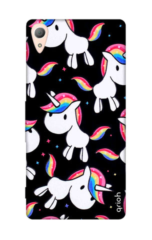 Colourful Unicorn Sony Z5 Cases & Covers Online