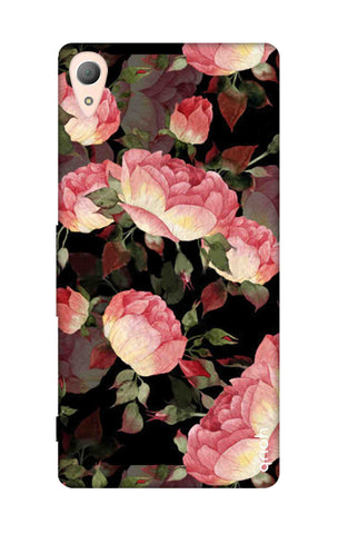 Watercolor Roses Sony Z5 Cases & Covers Online