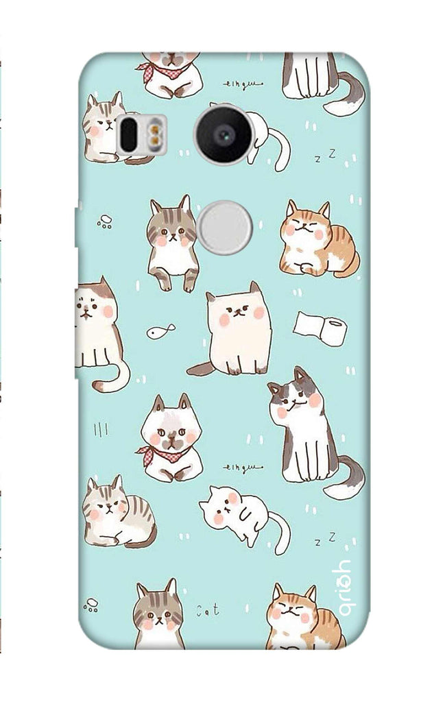 size 40 32f82 ba296 Cat Kingdom Case for Nexus 5X