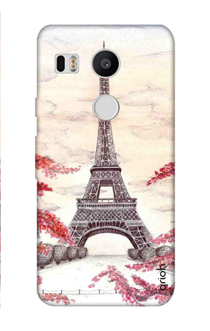 Eiffel Art Nexus 5X Cases & Covers Online