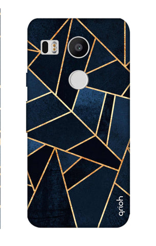 Abstract Navy Nexus 5X Cases & Covers Online
