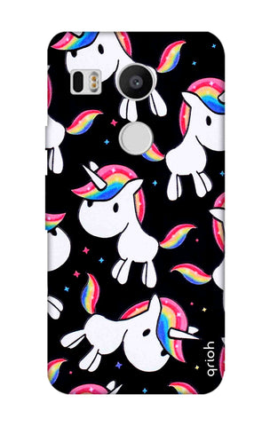 Colourful Unicorn Nexus 5X Cases & Covers Online