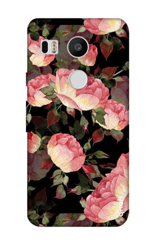 Watercolor Roses Nexus 5X Cases & Covers Online