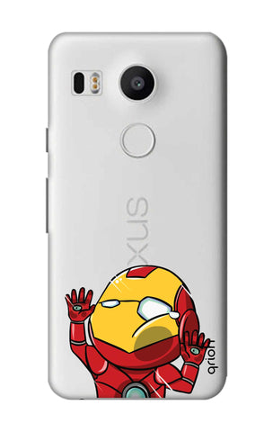 Iron Man Wall Bump Nexus 5X Cases & Covers Online