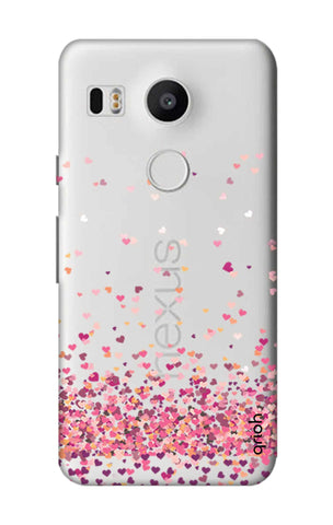 Cluster Of Hearts Nexus 5X Cases & Covers Online