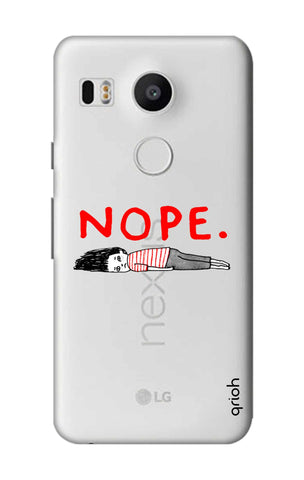 Nope Nexus 5X Cases & Covers Online