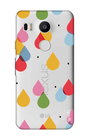 Colourful Drops Nexus 5X Cases & Covers Online
