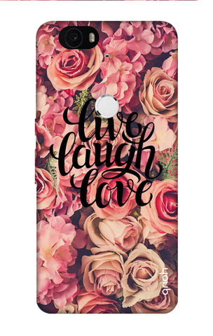 Floral Live, Laugh, Love Nexus 6P Cases & Covers Online