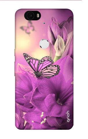Purple Butterfly Nexus 6P Cases & Covers Online