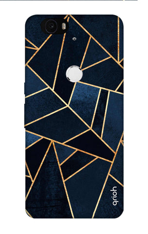 Abstract Navy Nexus 6P Cases & Covers Online