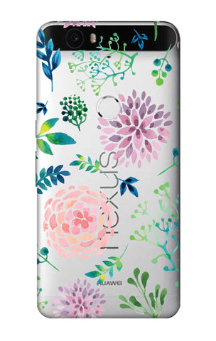 Lillies, Orchids And Leaves Nexus 6P Cases & Covers Online