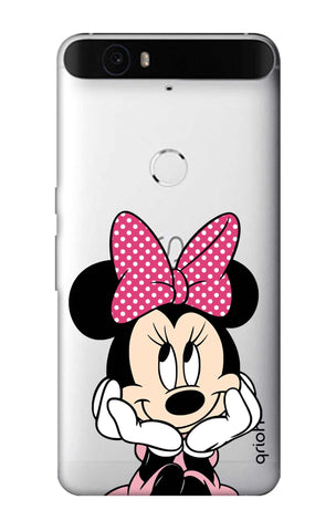 Minnie In Deep Thinking Nexus 6P Cases & Covers Online