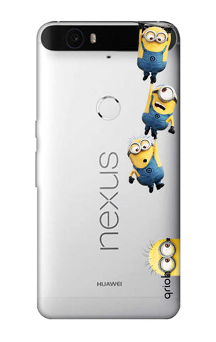 Falling Minions Nexus 6P Cases & Covers Online