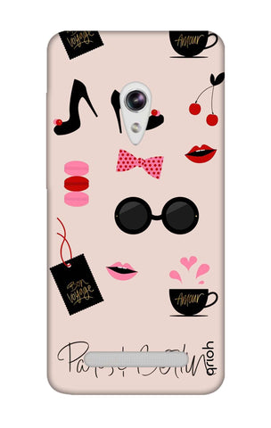 Paris And Berlin Asus Zenfone 5 Cases & Covers Online