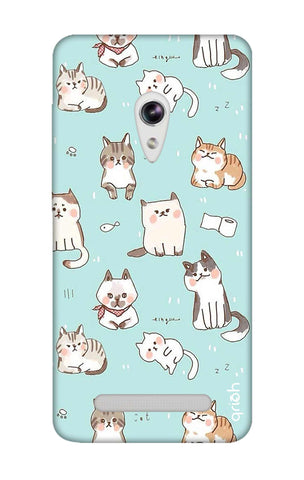 Cat Kingdom Asus Zenfone 5 Cases & Covers Online