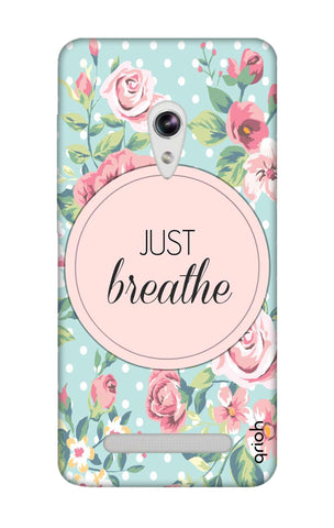 Vintage Just Breathe Asus Zenfone 5 Cases & Covers Online