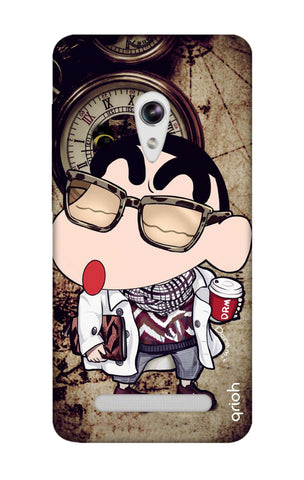 Nerdy Shinchan Asus Zenfone 5 Cases & Covers Online