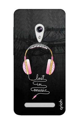 Lost In Music Asus Zenfone 5 Cases & Covers Online