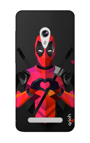 Valentine Deadpool Asus Zenfone 5 Cases & Covers Online