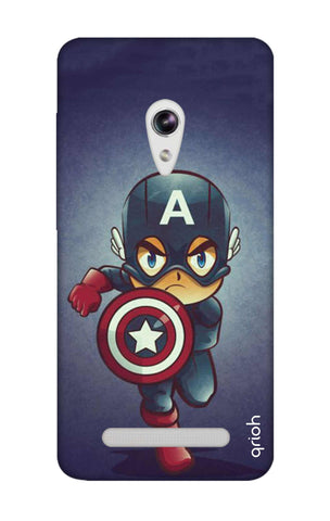 Toy Capt America Asus Zenfone 5 Cases & Covers Online