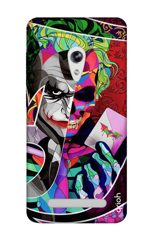 Color Pop Joker Asus Zenfone 5 Cases & Covers Online