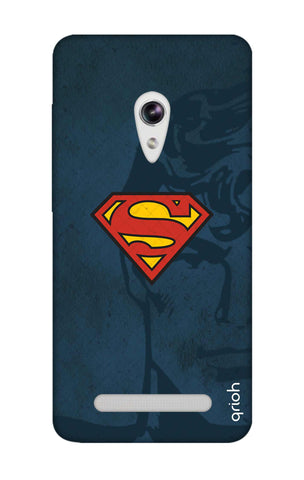 Wild Blue Superman Asus Zenfone 5 Cases & Covers Online