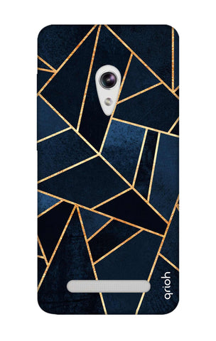 Abstract Navy Asus Zenfone 5 Cases & Covers Online