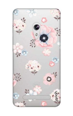 Beautiful White Floral Asus Zenfone 5 Cases & Covers Online