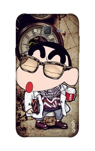 Nerdy Shinchan Samsung J7 Cases & Covers Online