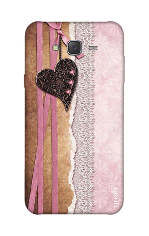 Heart in Pink Lace Samsung J7 Cases & Covers Online