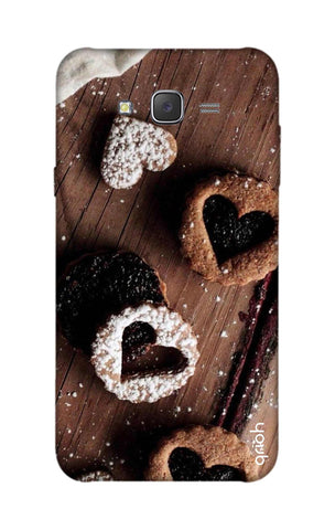 Heart Cookies Samsung J7 Cases & Covers Online