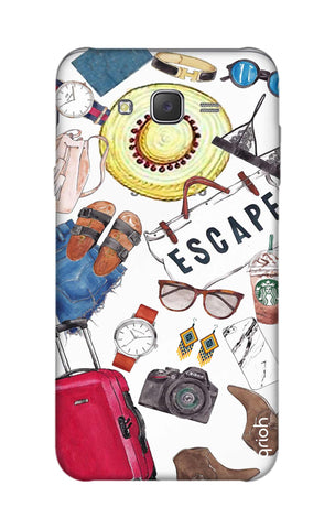 Travel Doodle Samsung J7 Cases & Covers Online