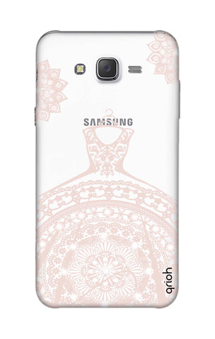 Bling Wedding Gown Samsung J7 Cases & Covers Online