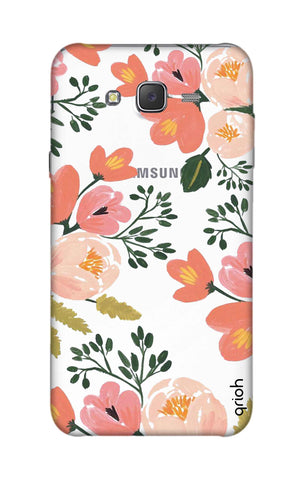 Painted Flora Samsung J7 Cases & Covers Online