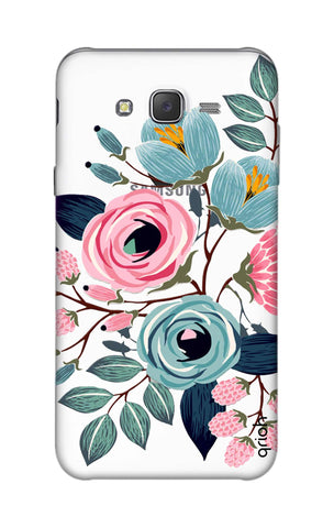 Pink And Blue Floral Samsung J7 Cases & Covers Online
