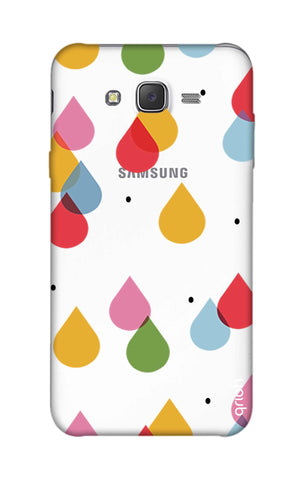 Colourful Drops Samsung J7 Cases & Covers Online