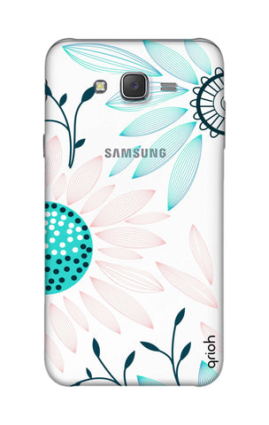 Pink And Blue Petals Samsung J7 Cases & Covers Online