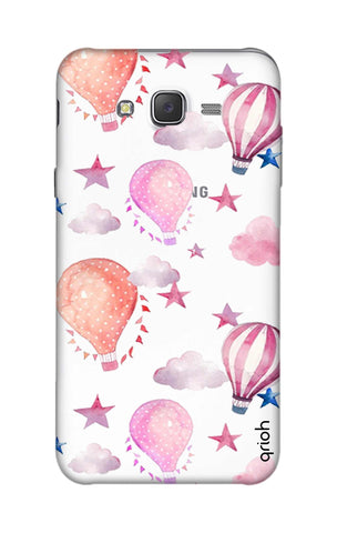 Flying Balloons Samsung J7 Cases & Covers Online