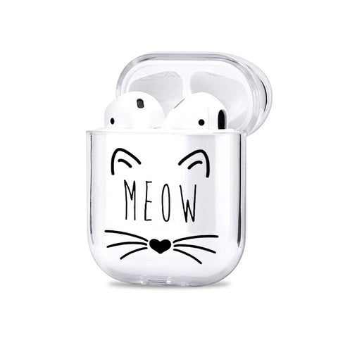 Meow Airpods Cover - Flat 35% Off On Airpods Covers