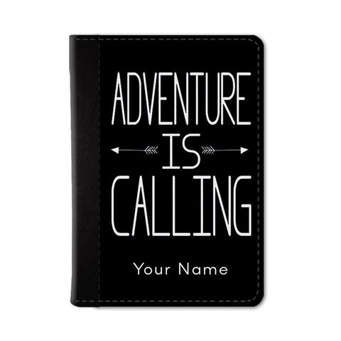 Adventure Awaits Custom Passport Wallet