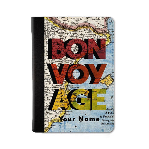 Bon Voyage Custom Passport Wallet