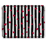 Red Little Hearts Card Sleeve