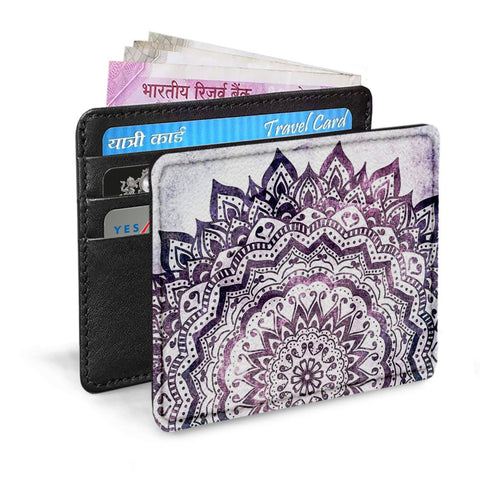 Purple Art Card Sleeve