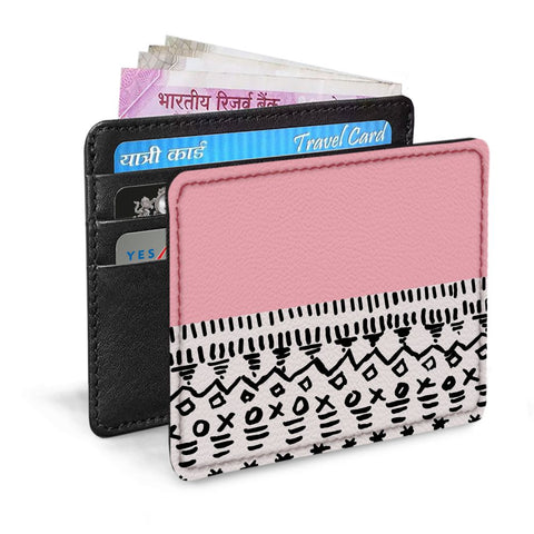 Pink pattern Card Sleeve