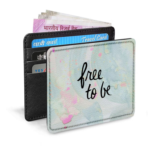 Free To Be Card Sleeve