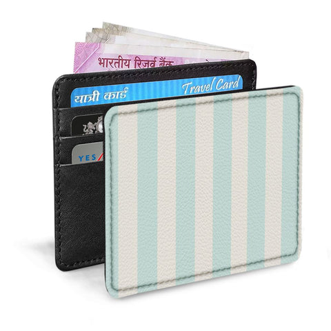 Sky Blue Stripes Card Sleeve