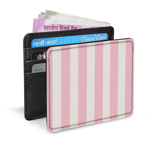 Pink Stripes Card Sleeve